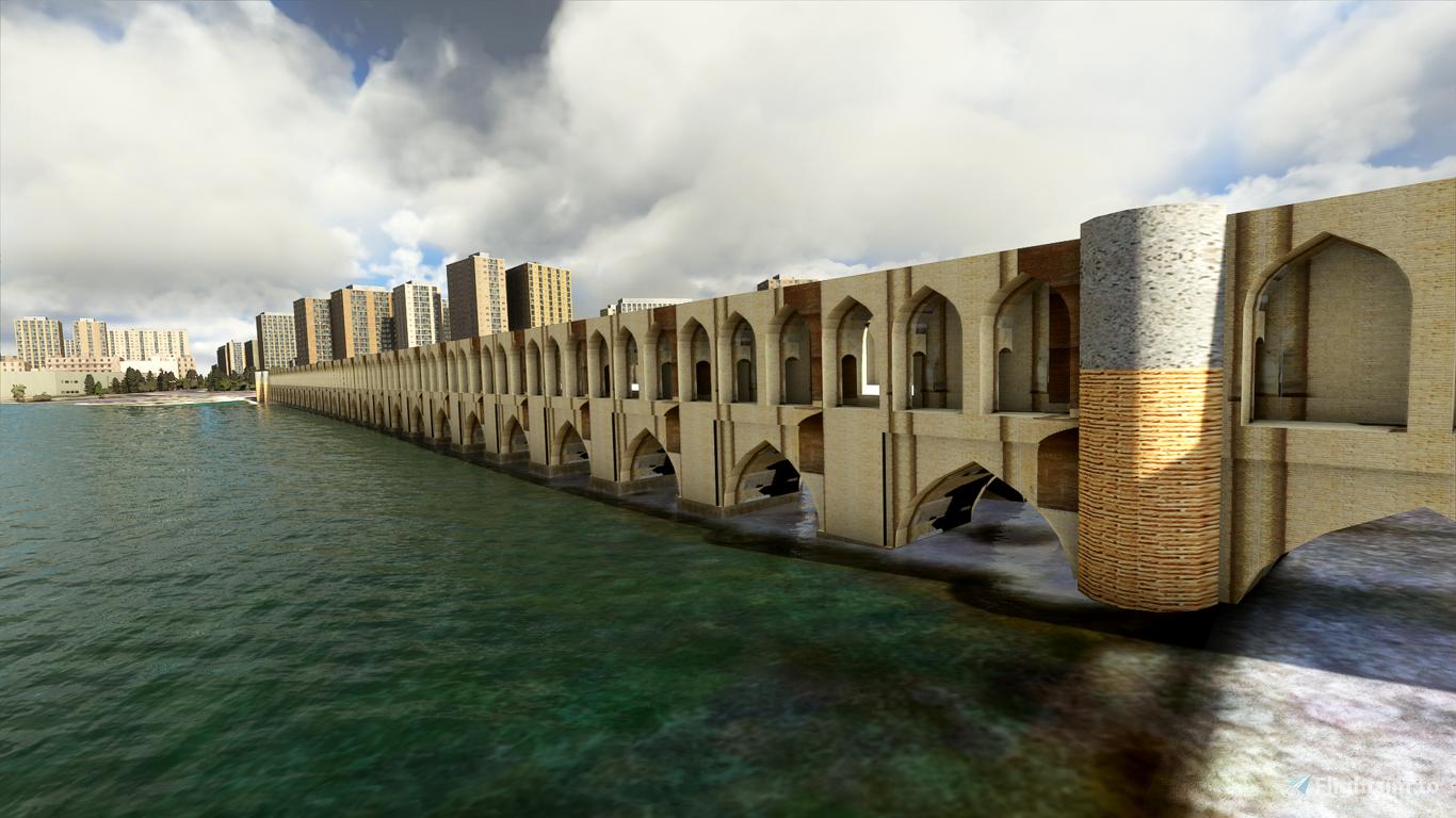 Iran - Isfahan Si-o-se-pol (Allahverdi Khan Bridge)