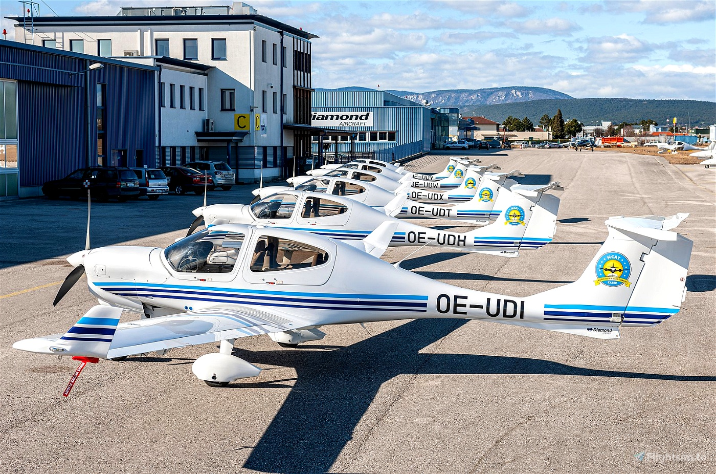 Diamond DA40 Nigerian College of Aviation Technology