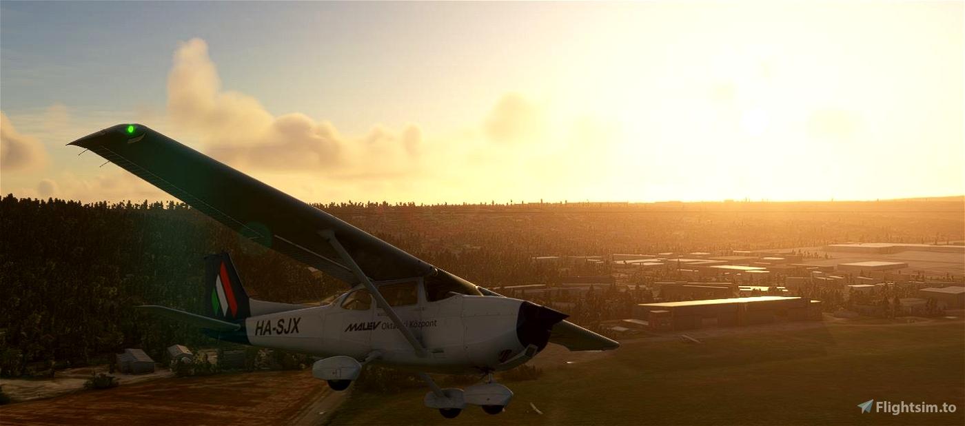 MALEV Cessna c172 HA-SJX (G1000) Flight Simulator 2020