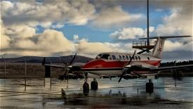 Beechcraft King Air350 Loganair 1980s Image Flight Simulator 2020