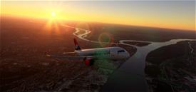 Airbus A320neo Air Serbia Image Flight Simulator 2020