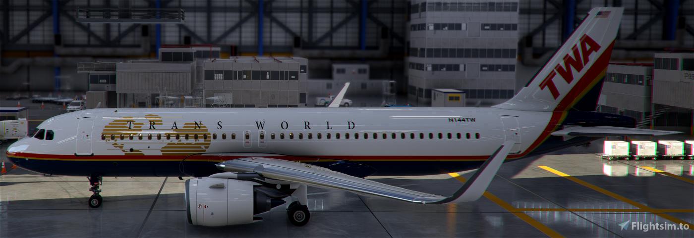 A320neo TWA [8k]