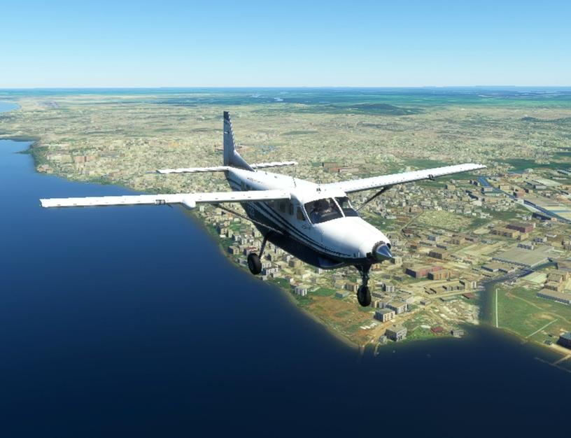 Africa Equator Bush Trip Microsoft Flight Simulator