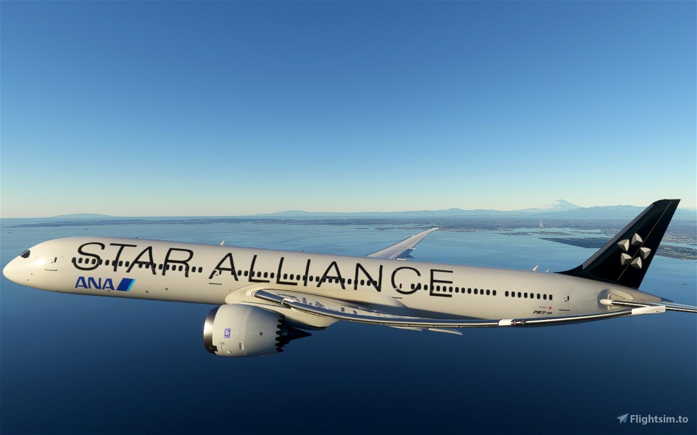 ANA (Star Alliance) 787-10 [4K] Flight Simulator 2020