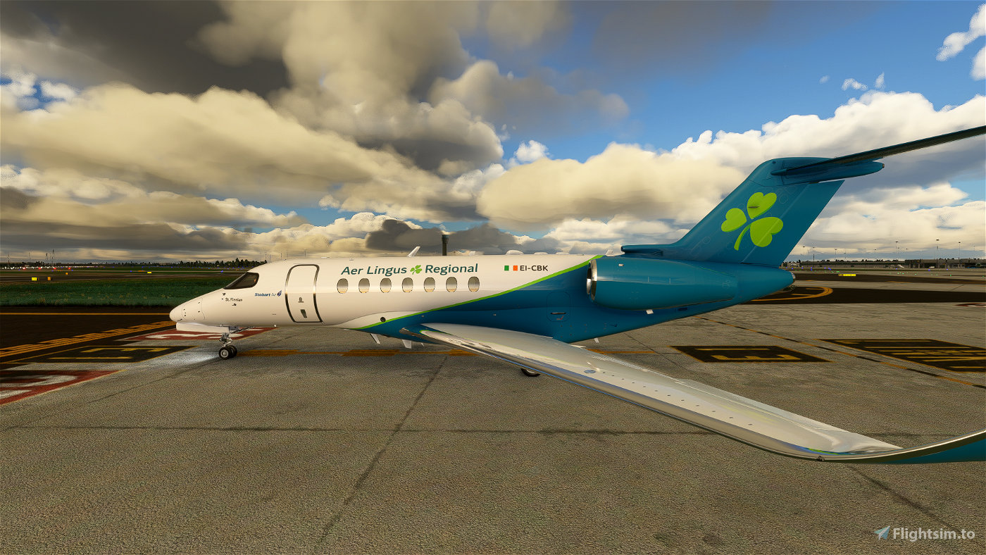Aer Lingus Regional Cessna Citation Longitude
