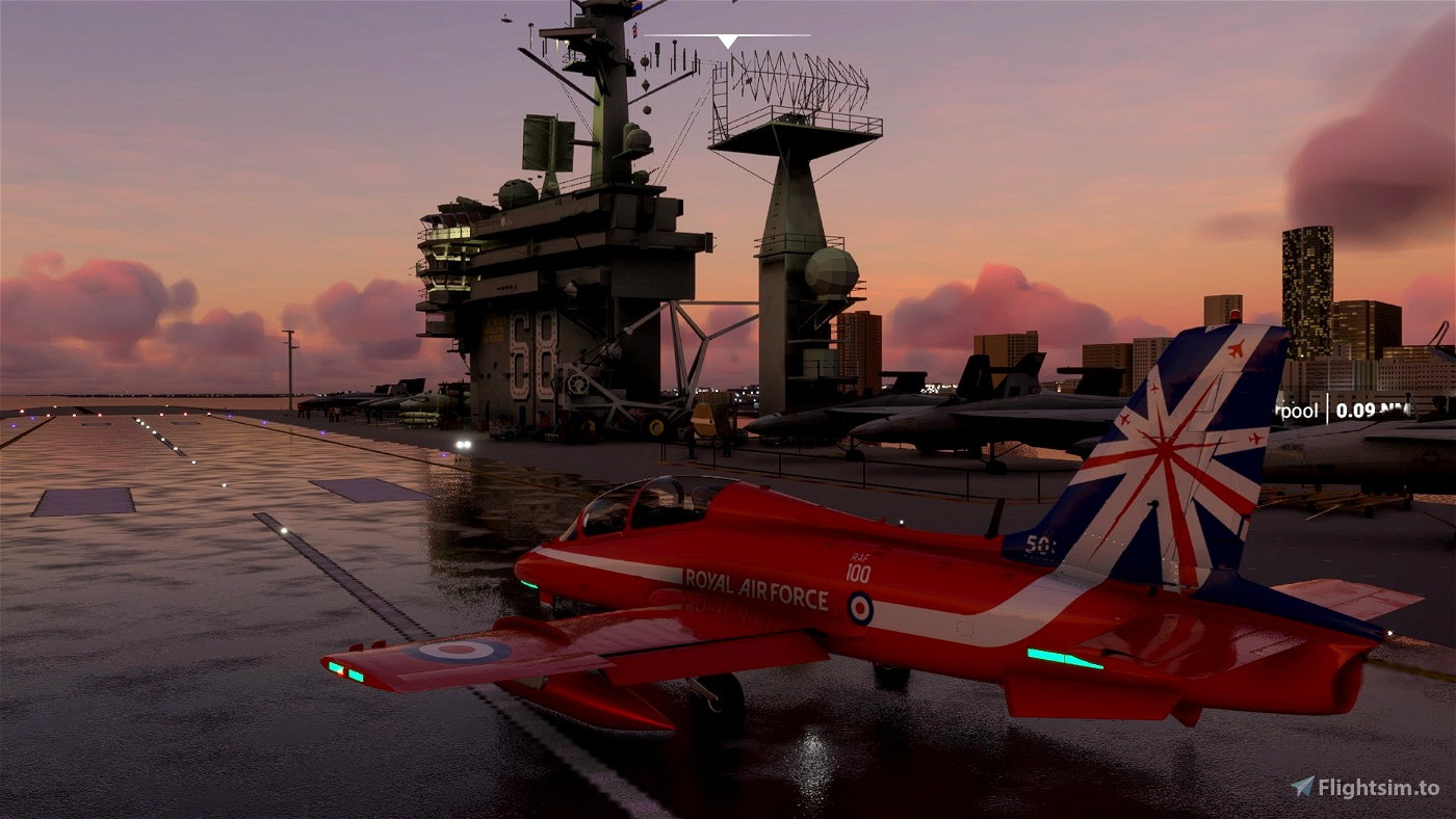 Red Arrows (Minipack) MB-339PAN Flight Simulator 2020