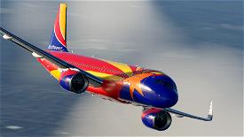 Southwest Arizona One A320neo [8K] Image Flight Simulator 2020