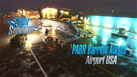 Barrow Utqiagvik Wiley Post-Will Rogers Memorial Airport (USA Alaska) v1.4 Microsoft Flight Simulator