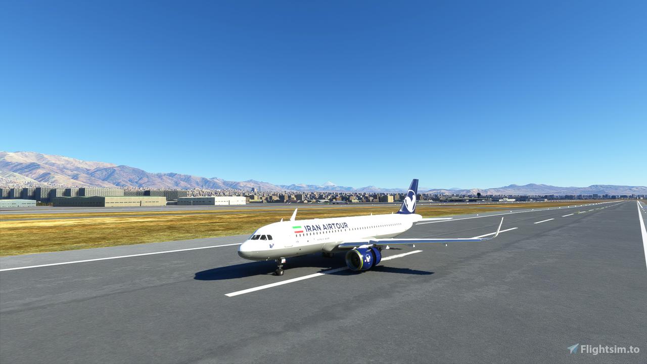 Iran Air Tour A320 Neo