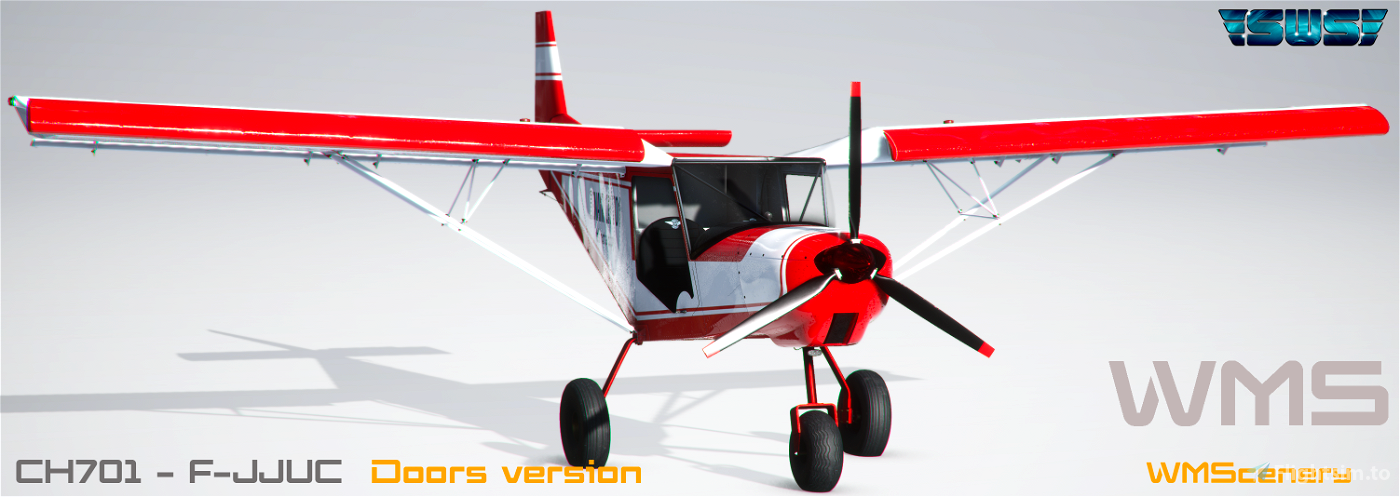 SWS-CH701-F-JJUC Repaint Flight Simulator 2020