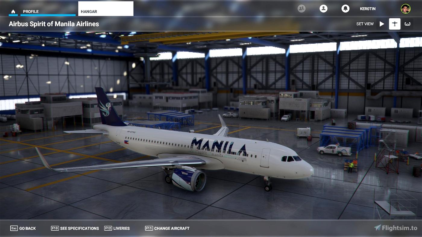 Spirit of Manila Airlines