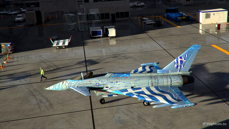 IAZ-EurofighterTyphoon-Livery Greece Flight Simulator 2020
