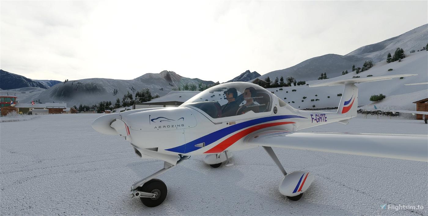 DIAMOND DA/DV20 Aerozing F-GHTE Flight Simulator 2020