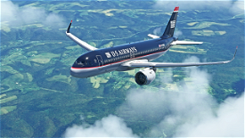 US Airways A320Neo (Old Colors) Image Flight Simulator 2020