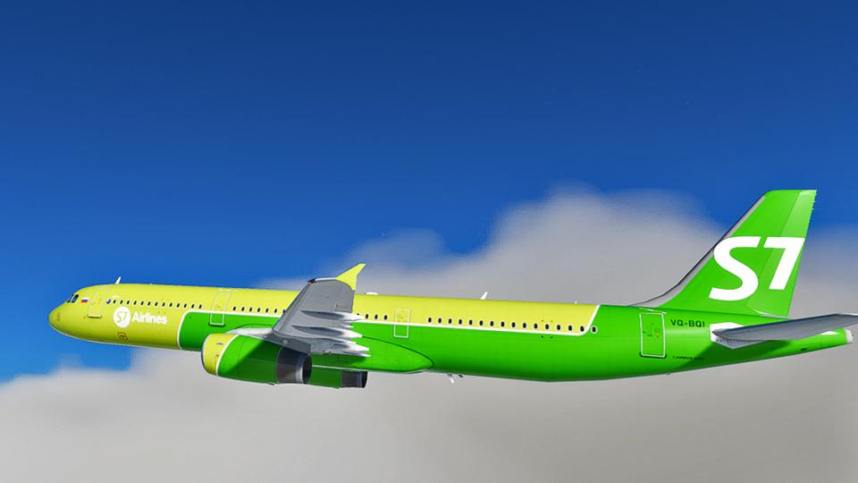 S7 Airlines [4K] Flight Simulator 2020