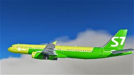 S7 Airlines [4K] Image Flight Simulator 2020