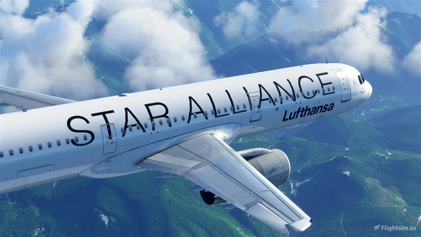 Lufthansa A321 (Star Alliance) Flight Simulator 2020