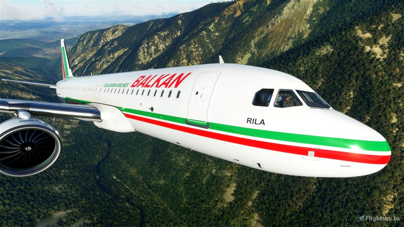 BALKAN Bulgarian Airlines - БАЛКАН
