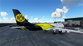 Turkish Airlines Borussia Dortmund Livery Image Flight Simulator 2020