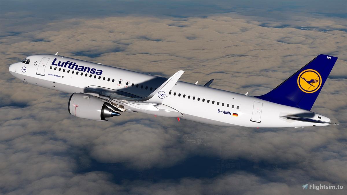 [A32NX] Lufthansa A320neo D-AINH 8k