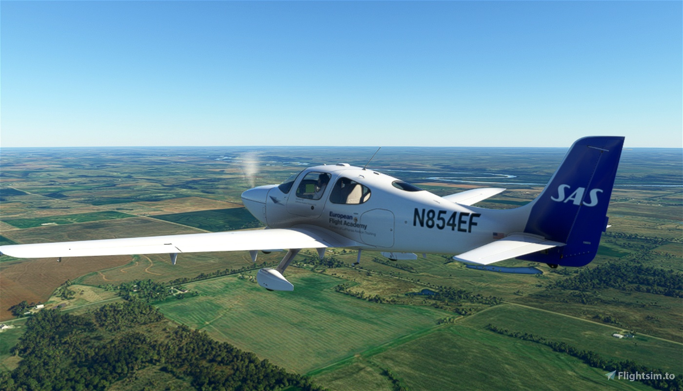 Cirrus SR22 (Lufthansa Aviation Training) • Flight ...