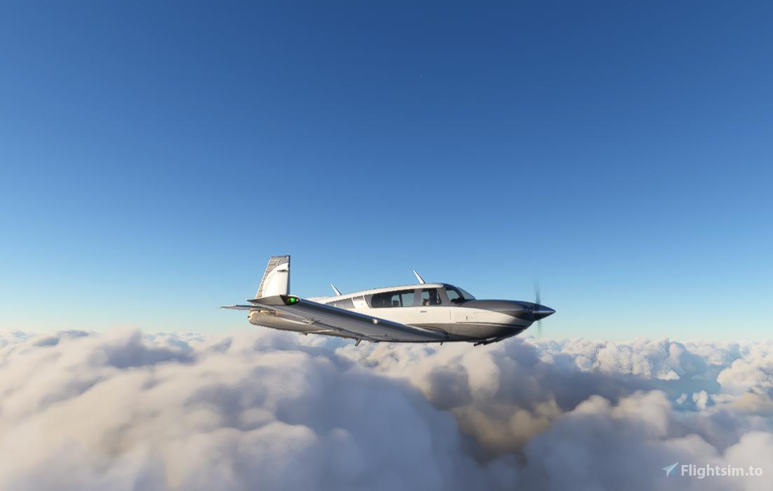 Carenado M20R Mooney Grey Flight Simulator 2020