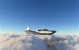Carenado M20R Mooney Grey Image Flight Simulator 2020