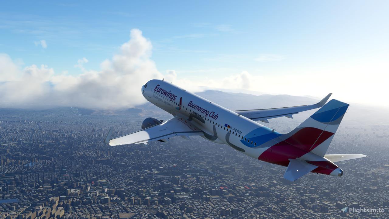 Eurowings Boomrang Club A320 Neo - 8K