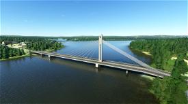Rovaniemi - Jätkänkynttilä (Lumberjack Candle Bridge) Image Flight Simulator 2020