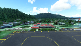 PTKK-Chuuk International Airport /Truk Island) Micronesia Image Flight Simulator 2020