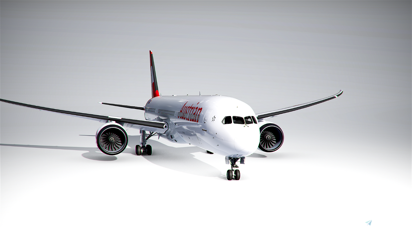 Boeing 787-10 Austrian Airlines (4K) Flight Simulator 2020