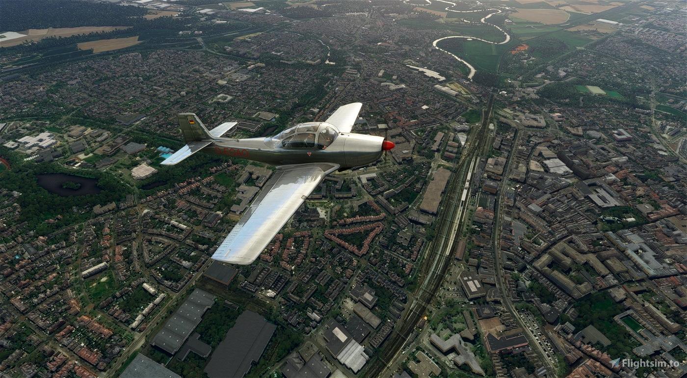 Piaggio P.149 D-EOAO Flight Simulator 2020