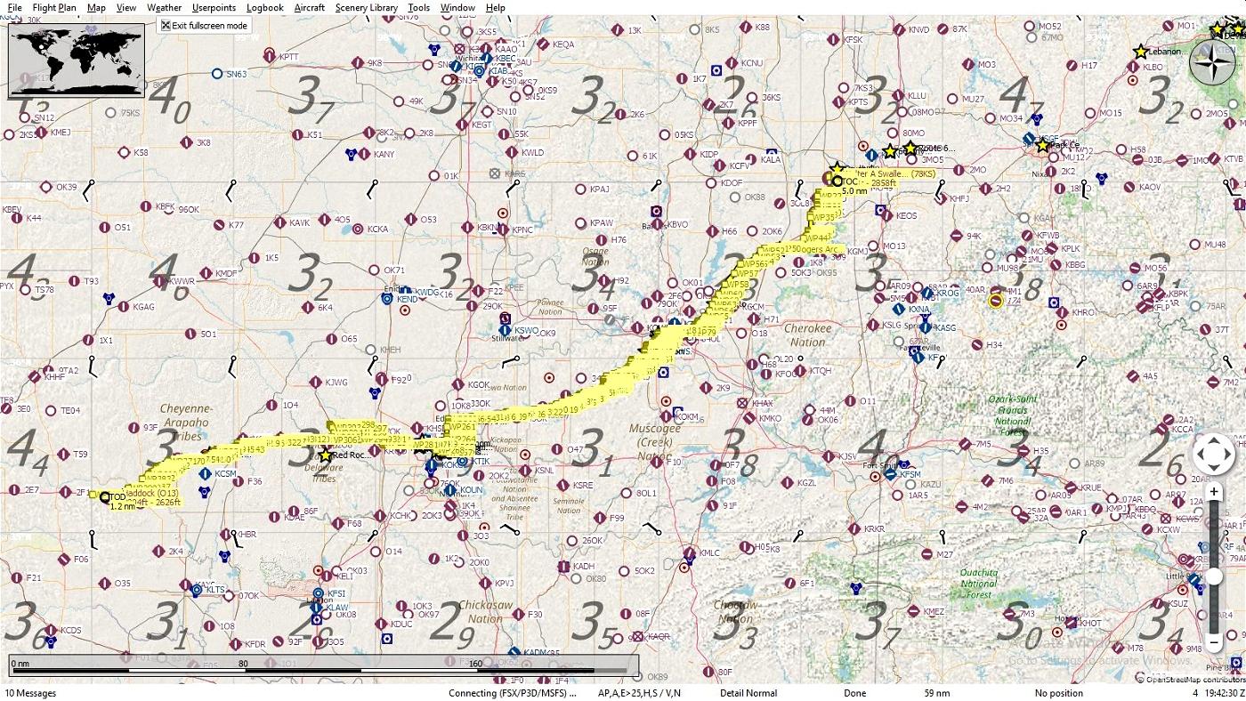Get Your Kicks Above Route 66 - Oklahoma #3 Flight Simulator 2020