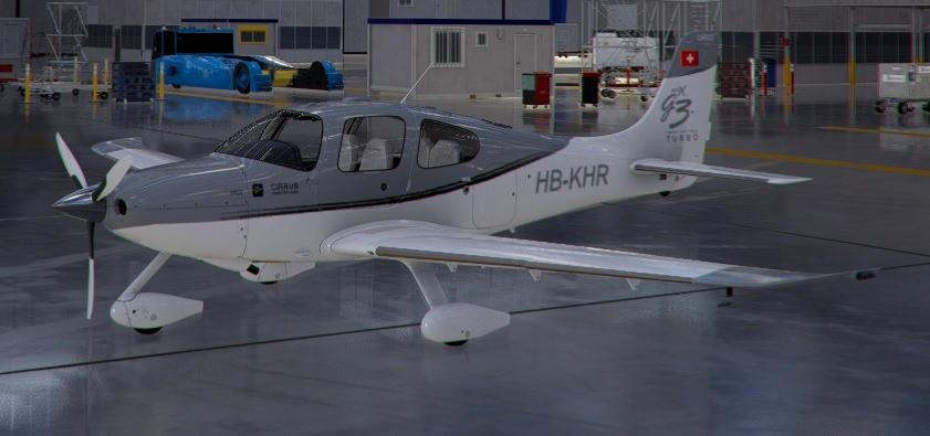 Cirrus SR22 HB-KHR Flight Simulator 2020