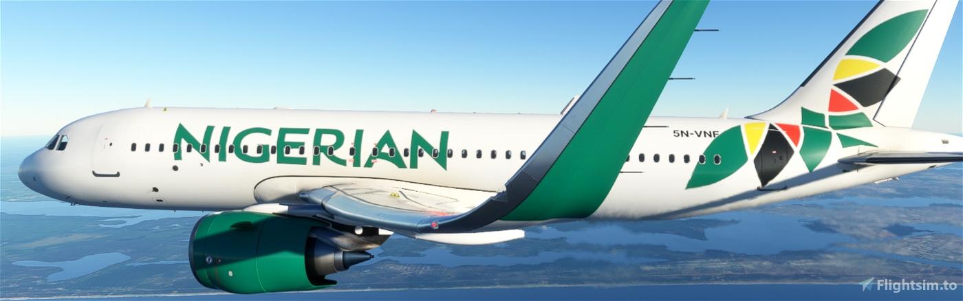 Nigerian Airlines Flight Simulator 2020