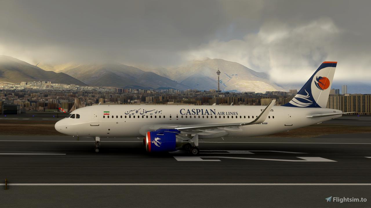 Caspian Airlines A320 Neo Flight Simulator 2020