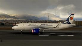 Caspian Airlines A320 Neo Image Flight Simulator 2020