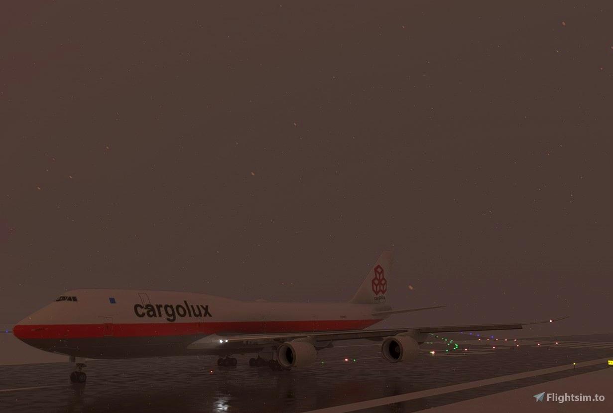 Cargolux 747-8i (Retro)