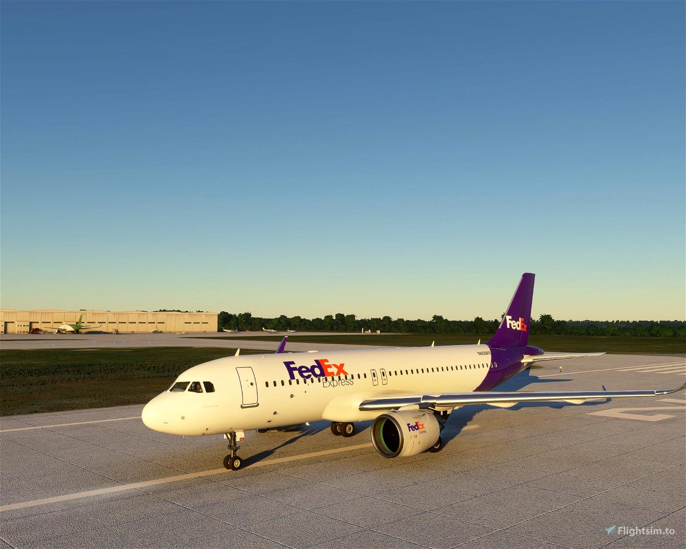 FedEx A320 - Update Flight Simulator 2020