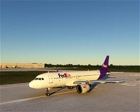 FedEx A320 - Update Image Flight Simulator 2020