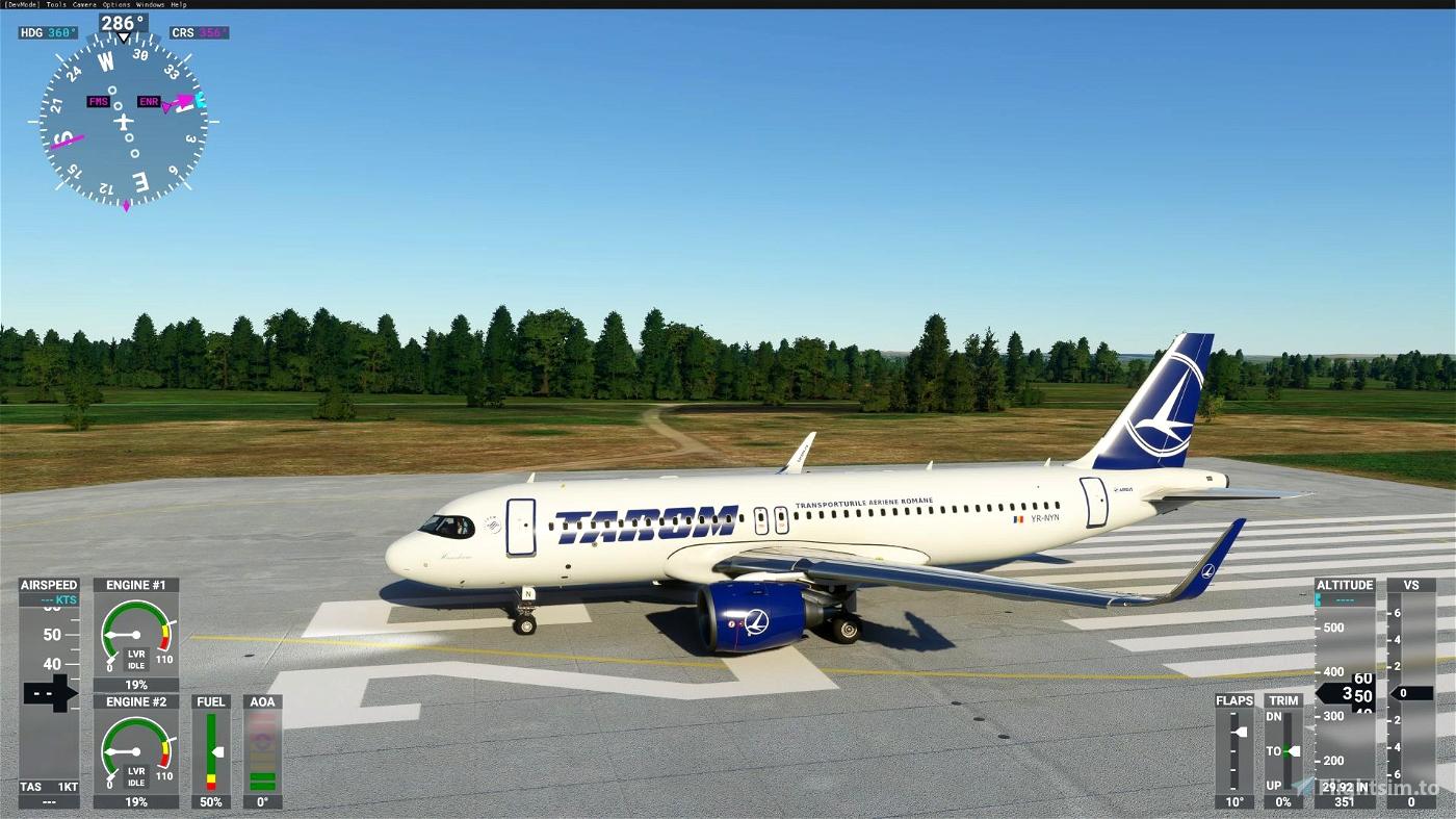 A320neo TAROM 8K normal+raccoon Flight Simulator 2020