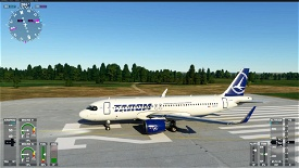 A320neo TAROM 8K normal+raccoon Image Flight Simulator 2020