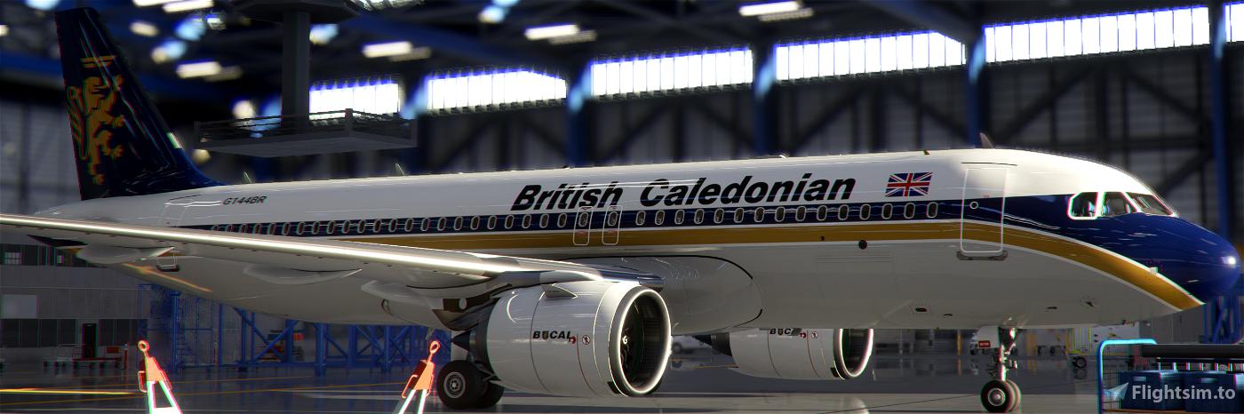 A320neo British Caledonian [8k]