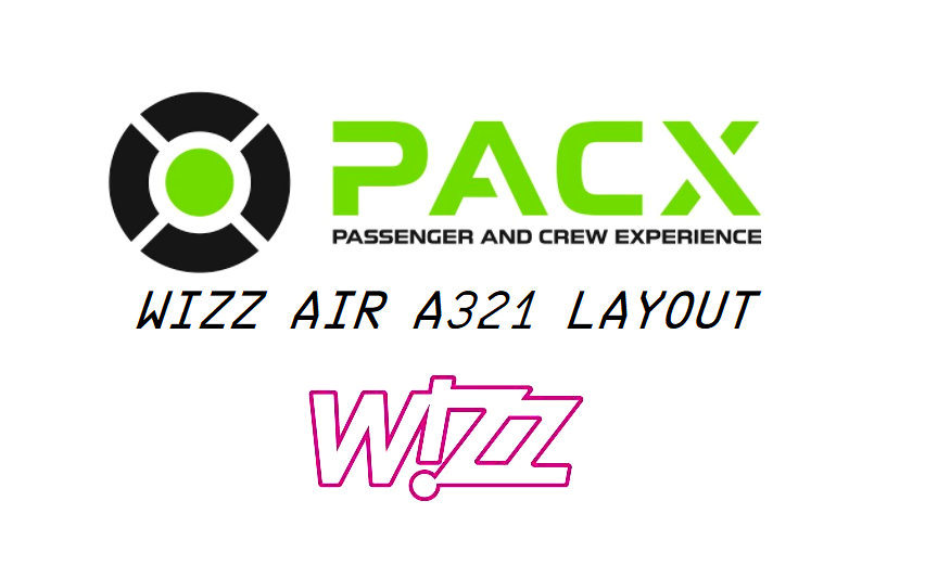 Wizz Air a321 layout for PACX Flight Simulator 2020