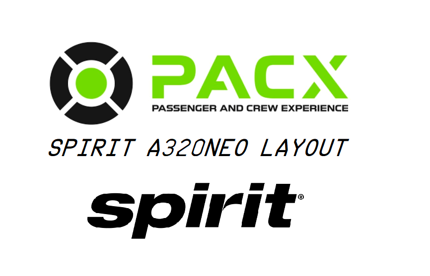 Spirit Airlines a320neo layout for PACX Flight Simulator 2020