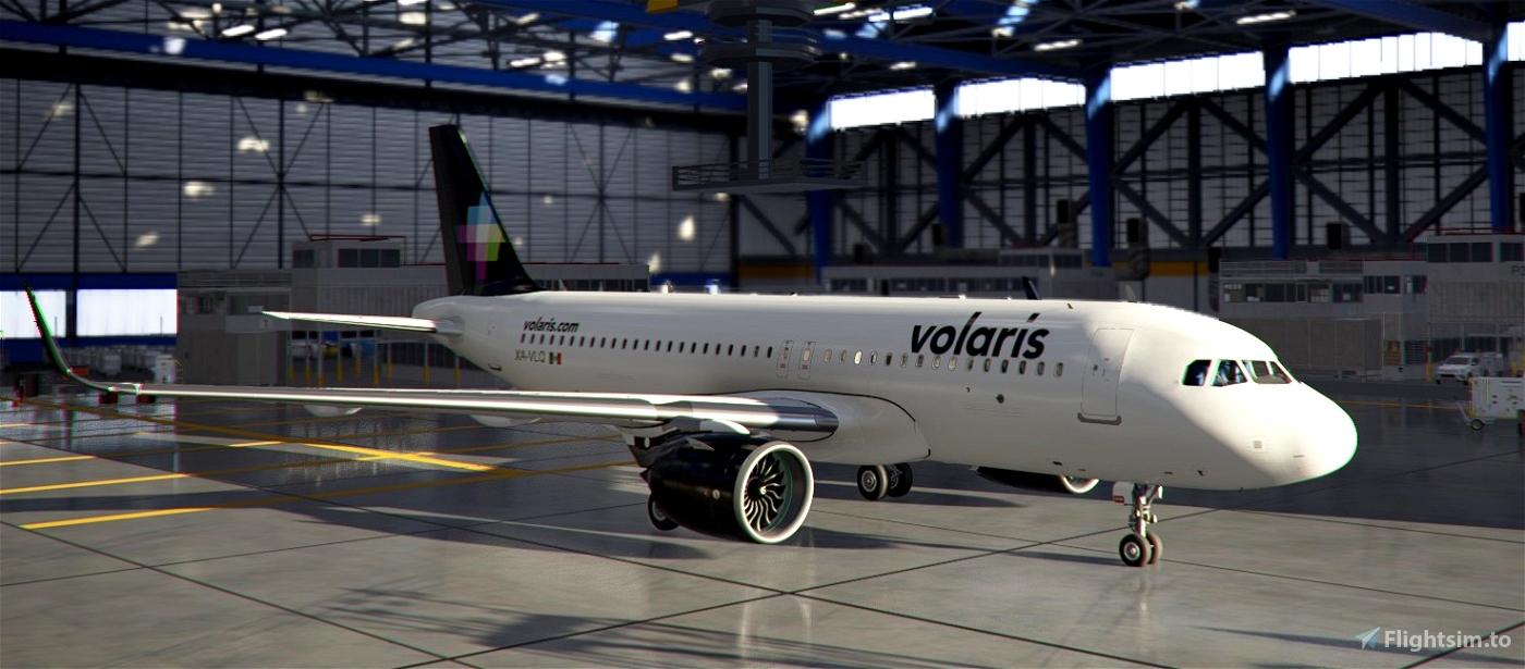 Volaris A320neo Flight Simulator 2020