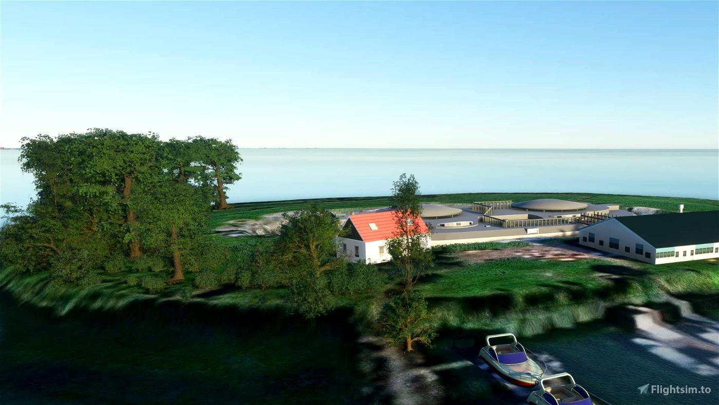 Pampus Island Flight Simulator 2020