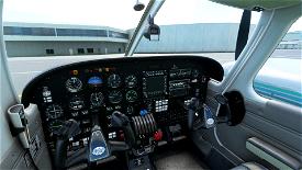 Black Cockpit for the Carenado Piper PA44 Seminole Image Flight Simulator 2020