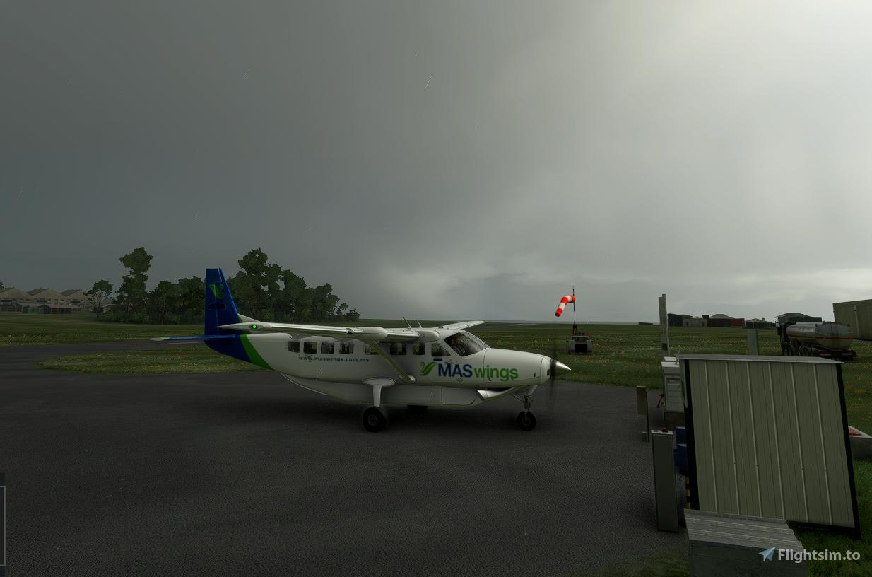 208 MasWings Flight Simulator 2020