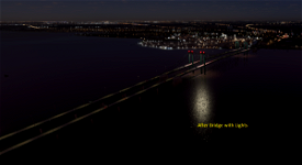 Delaware Memorial Bridge Image Flight Simulator 2020